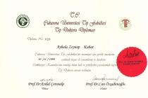 Tıp Doktoru Diploması