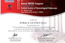 Turkish Society of Gynecological Endoscopy