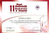 11. Ulusal Jinekolojik Onkoloji Kongresi
