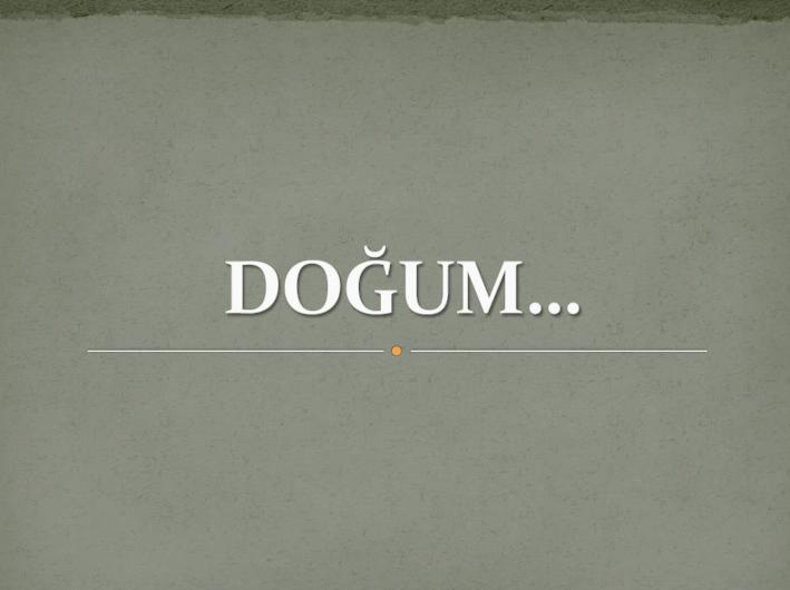 dogum