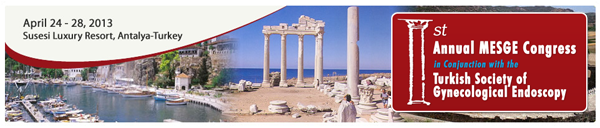 Ortadoğu Jinekolojik Endoskopi Derneği kongresi gerçekleşti