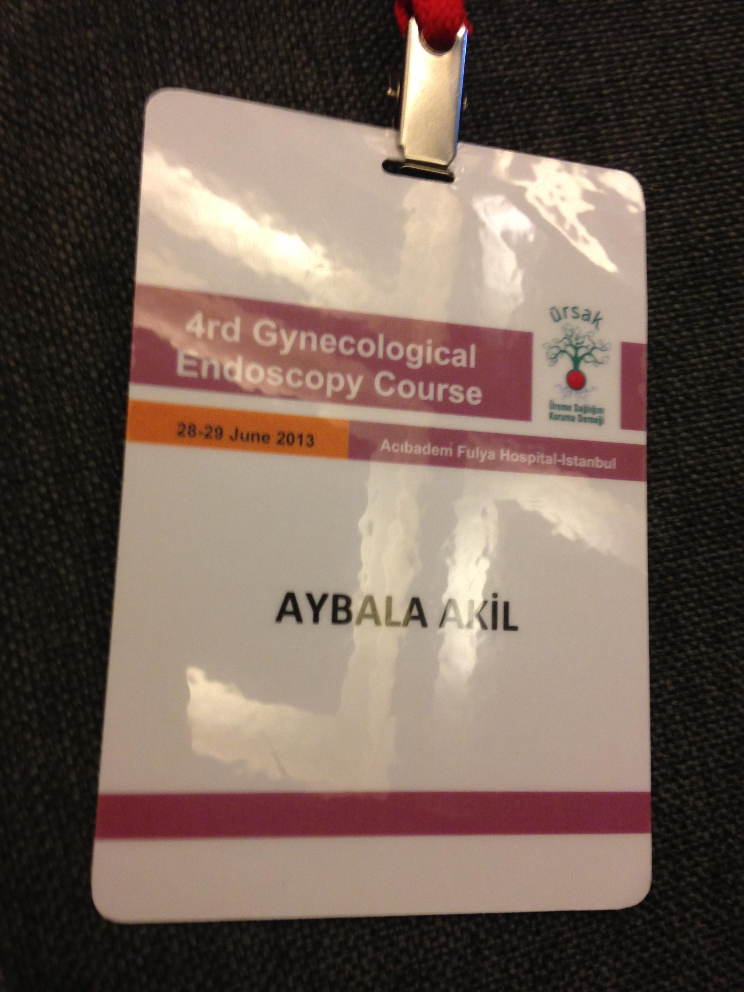 4. Jinekolojik Endoskopi Kursu gerçekleşti
