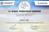 14. Ulusal Perinatoloji Kongresi Katılım Belgesi